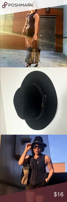 Black fedora, Madden Girl, NWT, so cute for fall!! Black fedora, Madden Girl, NWT, so cute for fall!! New with tags. Steve Madden Accessories Hats