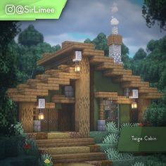 Minecraft Cabin, Casa Medieval Minecraft, Minecraft House Plans, Cute Minecraft Houses, Minecraft Mansion, Minecraft House Tutorials, Minecraft Houses Survival, Minecraft Houses Blueprints, Minecraft House Designs
