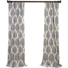 Arianna Curtain Panel  at Joss and Main