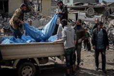 """مصدر يكشف عن رقم """"مرعب"""" لجثث انتشلت من أيمن الموصل"""
