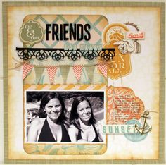 FRIENDS FOR YEARS - Scrapbook.com