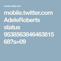 mobile.twitter.com AdeleRoberts status 953856384646381568?s=09