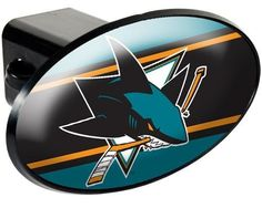 NHL San Jose Sharks Trailer Hitch Cover by Great American Products. $15.49