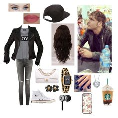 """Signing Autographs with Dean Ambrose"" by kambrose85 ❤ liked on Polyvore featuring CENA, Citizens of Humanity, Carmakoma, Balenciaga, Converse, Vans, WigYouUp, Chanel, She's So and Lottie"