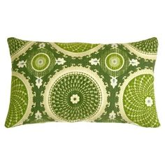 Pillow Decor - Bohemian Medallion Jade 12x20 Throw Pillow ...