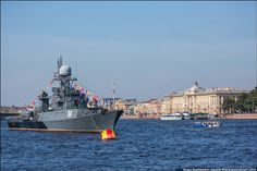 Russian Navy Fleet in St. Peterburg 2014