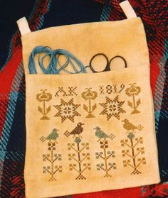 1819 Stitcher's Bag by Chartmakers.