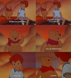 Winnie the Pooh . This used to be my favorite part when I watched this with my little sis <3