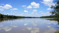 Rio Iguaçu próximo a foz do Rio Cachoeirinha em Porto União.