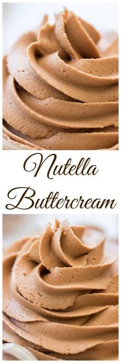 Thick, rich, and ultra-fluffy, this recipe for Nutella Buttercream is as easy as can be! It's the most divine marriage of chocolate and hazelnut, and you'll want it on EVERYTHING!
