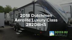 2018 Dutchmen Aerolite 282DBHS Walkthrough   Boyer RV Center