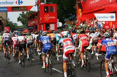 #LaVuelta arrives in Madrid 2013
