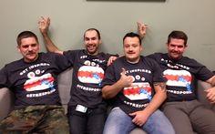 ...bo wspieramy grupowo akcję Movember dzielnie przez miesiąc zapuszczając wąsy! ;-)