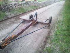 Ultimate displayed welding projects Home Page Garden Tool Shed, Garden Tool Storage, Farm Projects, Welding Projects, Metal Projects, Welding Trailer, Trailer Build, Garden Tractor Attachments, Homemade Tractor