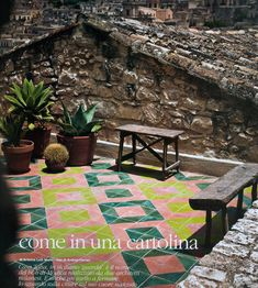 beautiful tiles in sicily (via elle decor italia july-august 2011)