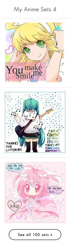 """My Anime Sets 4"" by otaku-dreamer ❤ liked on Polyvore featuring art, anime, girl, animegirl, VampireKnight, teddy, ShoutOut, Hetalia, hunterxhunter and killua"