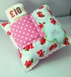 Floral Toothfairy Pillow