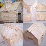 dil çubuklarından ev yapımı « Evimin Altın Topu