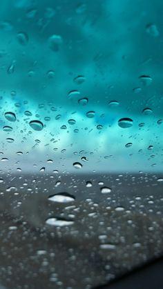 Rain Drop Splash Window Sky Nature Art IPhone 8 Wallpaper