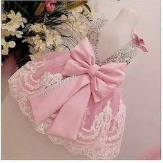Sliver Bling Sequins Pink White Lace baby Birthday Party Dress with Bow flower girl dresses wedding occasion ball gowns Baby Girl Party Dresses, Dog Dresses, Little Girl Dresses, Baby Dress, Girls Dresses, Pageant Dresses, Dress Party, Girls Lace Dress, Floral Lace Dress