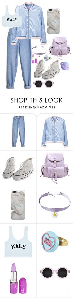 """""""¡ my my my !"""" by aesthoe ❤ liked on Polyvore featuring MANGO, Chicnova Fashion, Lime Crime and Illesteva"""