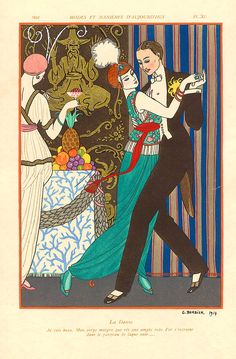 : A Decadent Night in Paris With Georges Barbier  1914