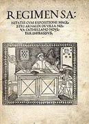 Il punto ultimo d'arrivo della tradizione antica è rintracciabile nel Regimen sanitatis formulato dai Maestri della celebre Scuola medica Salernitana nel XII–XIII secolo e pubblicato a stampa nel 1480 e nel Liber ruralium commodorum, redatto nei primi anni del Trecento da Pietro de' Crescenzi (1230-1321).