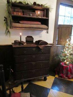 old dressers, primitive christmas, visit hazardprimitivescom, painted wood floors, primit christma, painted floors