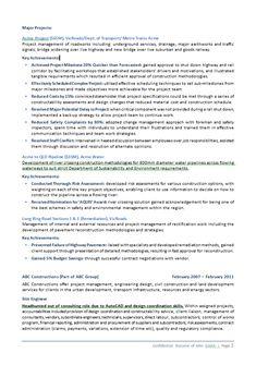resume civil service