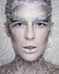 evil ice queen makeup - Google Search