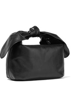 Simone Rocha   Knotted leather tote   NET-A-PORTER.COM