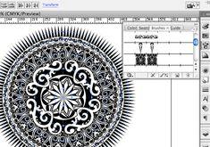 pattern brush in illustrator