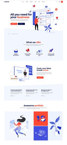 Website Design Layout, Web Design Tips, Web Design Tutorials, Art Tutorials, Landing Page Inspiration, App Design Inspiration, Interactive Presentation, Presentation Templates, Best Landing Page Design