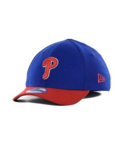 New Era Philadelphia Phillies Team Classic 39THIRTY Kids' Cap or Toddlers' Cap - Blue Youth