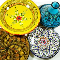 I haven't gotten excited about tableware in a long time. Beautiful patterns!
