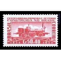 Brasil 1954 Novo // 100 Anos Da Primeira Estrada De Ferro No