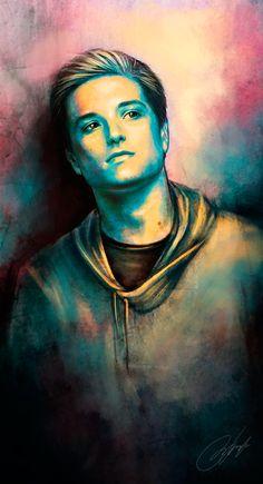 The Hunger Games - Catching Fire - Peeta by strannaya-anna.deviantart.com on @deviantART
