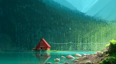 """Concept Art by Clément Dartigues """"GRIZZY AND THE LEMMINGS"""" STUDIO HARI"""