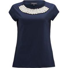 T-shirt, Bien Bleu Pearl Tee - The Sting