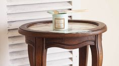 How To Distress Furniture With Vinegar - White Lace Cottage Recycled Furniture, Cheap Furniture, Shabby Chic Furniture, Furniture Projects, Furniture Makeover, Painted Furniture, Dresser Makeovers, Furniture Design, Distressing Painted Wood