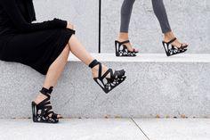 ATOSSA 3D Printed Footwear by Behrad Ghodsi