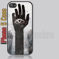 The Eye and Hands Illuminati Symbol iPhone 5 Case Cover