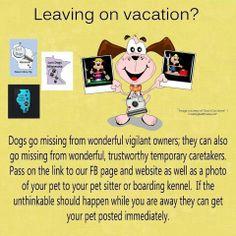 Missing pet tips