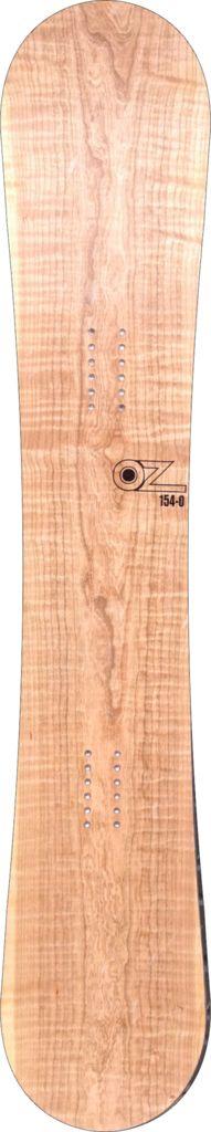 For sale! Cherry wood veneer snowboards www.ozsnowboards.com #snowboarding