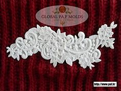 Handmade Silicone Fondant Mouldnew Lace Mold 467gf *** To view further for this item, visit the image link.