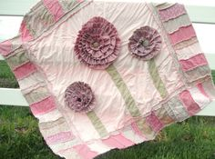 Learn how to make a rag quilt in a whole new way when you check out free quilting patterns like this gorgeous and surprisingly easy Ruffled Rag Quilt Pattern. This stunning free rag quilt pattern shows you how to make a scrappy quilt that is going to Quilting Projects, Quilting Designs, Sewing Projects, Quilting Ideas, Sewing Tips, Sewing Ideas, Craft Projects, Rag Quilt Patterns, Sewing Patterns Free