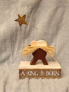 Small Christmas Nativity~ Simplicity at Best