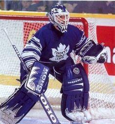 Felix Potvin Goalie Gear, Goalie Mask, Hockey Goalie, Hockey Games, Hockey Players, Ice Hockey, Hockey Pictures, Sports Pictures, Nhl