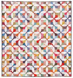 "Flowering Snowball 90"" x 99"" I've been trying to quilt all my recent quilt tops myself, but this one was just too big for me to handle. Thanks to the talented Sharon and her long-arm machine, this ..."