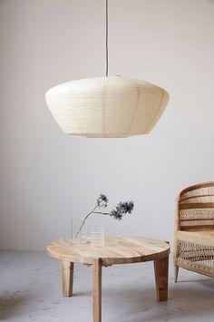 House Doctor, Sand House, Paper Lampshade, Living Room Inspiration, Living Spaces, Bruges, House Design, Ceiling Lights, Decoration